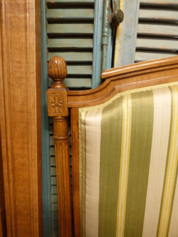 Lovely Vintage French King Size Bed - 160cm wide - ha140
